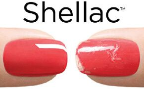 shellac permanent lackning